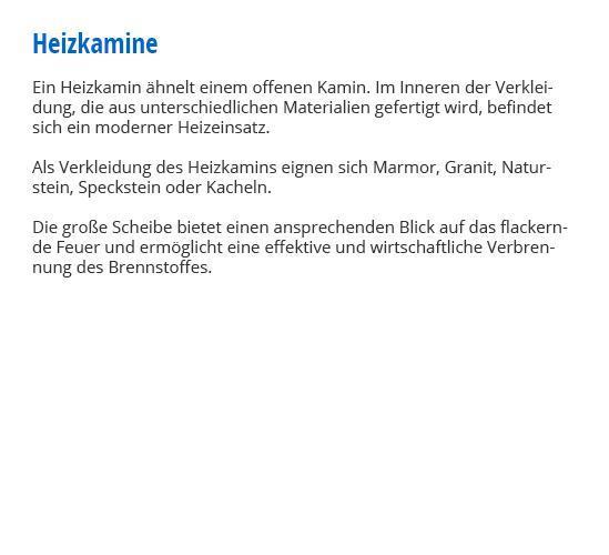 Heizkamine für  Himmelstadt