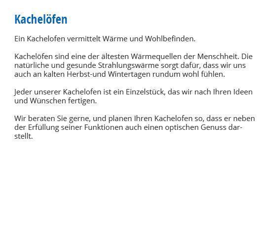 Kachelofen für 97267 Himmelstadt für  Himmelstadt