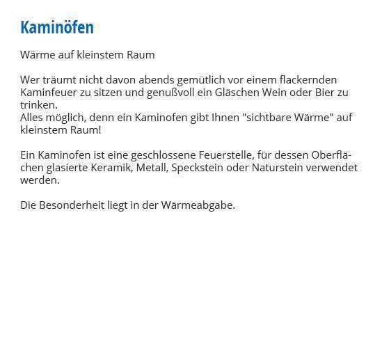 Kaminöfen in 97267 Himmelstadt in  Himmelstadt